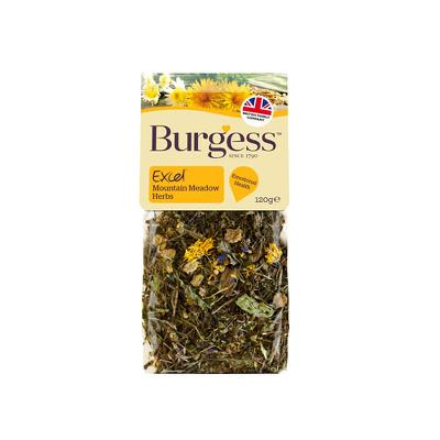 Burgess Excel Mountain Meadow Herbs 120g