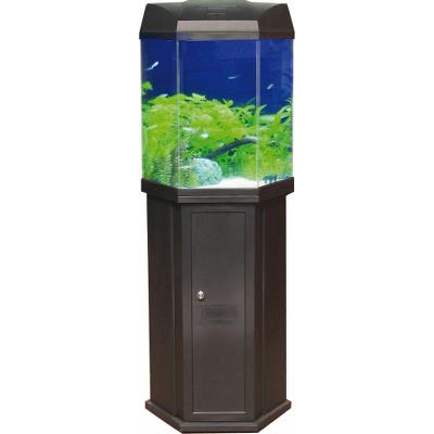 Hexa aquarium 57L sort