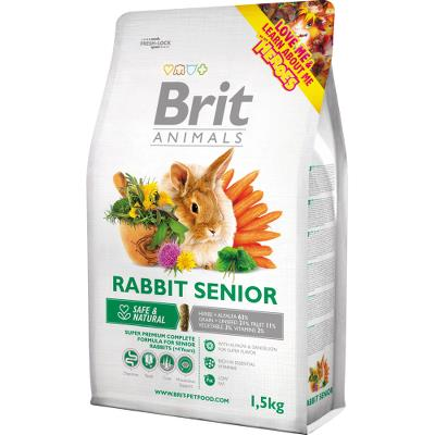 Brit Animals RABBIT SENIOR Complete 1,5 kg