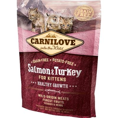 Carnilove Salmon og Turkey for Kittens – Healthy Growth 400g