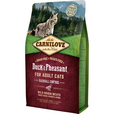 Carnilove for Adult Cats – Hairball Control 2 kg