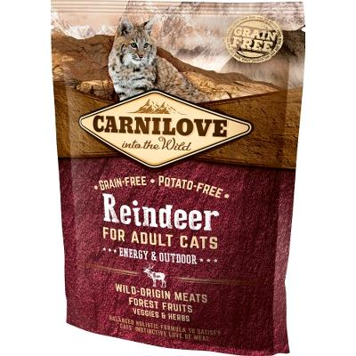 Carnilove Reindeer for Adult Cats – Energy og Outdoor 400 g