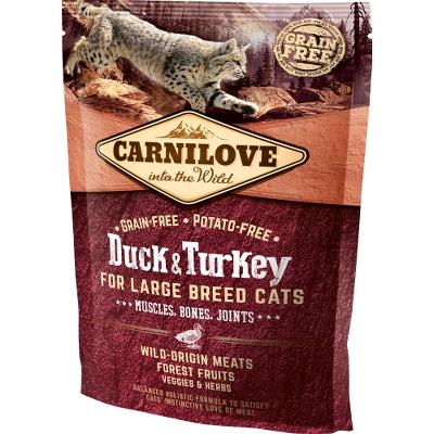 Carnilove for Large Breed Cats – Muscles,Bone 400 g