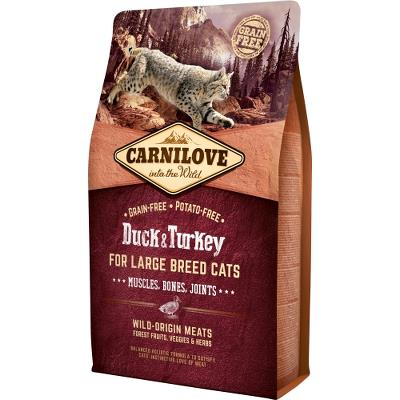Carnilove for Large Breed Cats – Muscles,Bone 2 kg
