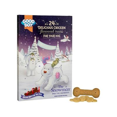 GBOY The Snowman & The Snowdog Advent, 112 g