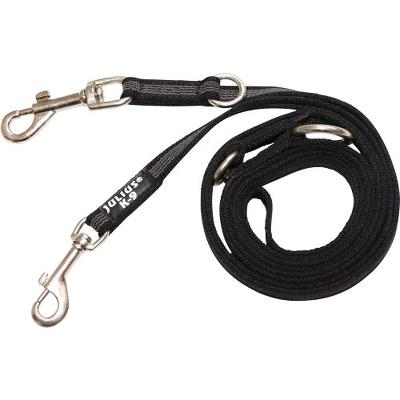 K9 S. grip line, sort/grå 20 mm/2,2m dressur