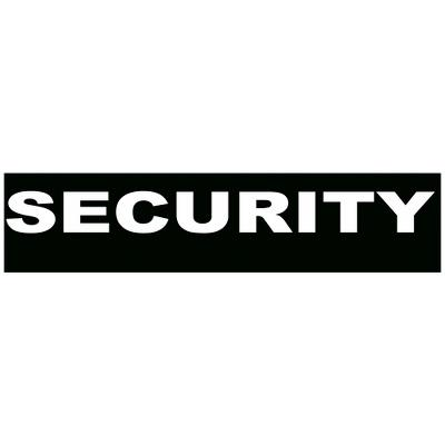 Security, small, 110x30 mm