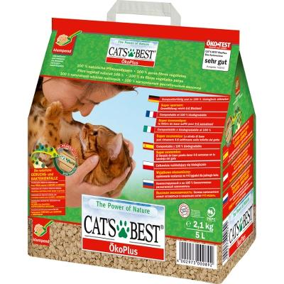 ¤¤Udgået¤¤ Cats Best Öko Plus 5L