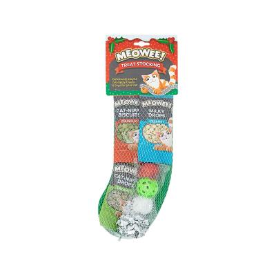 Meowee! Cat Treat Stocking