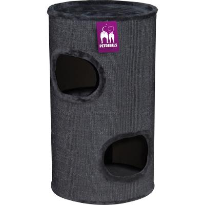 ¤¤Udgået¤¤ Cat tower Dome 80 Black