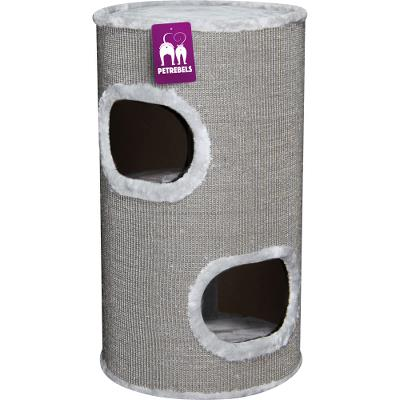 ¤¤Udgået¤¤ Cat tower Dome 80 Grey