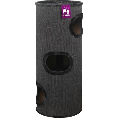 ¤¤Udgået¤¤ Cat tower Dome 110 Black