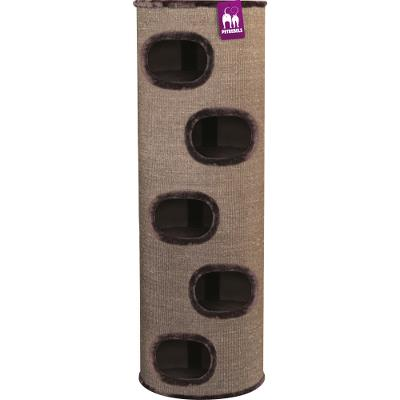 ¤¤Udgået¤¤ Cat tower Giant Dome 150 Brown