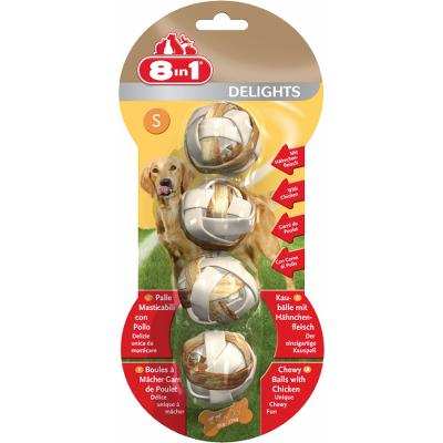 8in1 Delights Balls S, 4 Stk