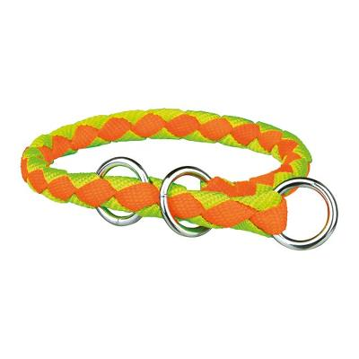 *Cavo kvælerhalsb,L–XL: 52–60 cm/ø 18 mm, neon-orange/neon-g