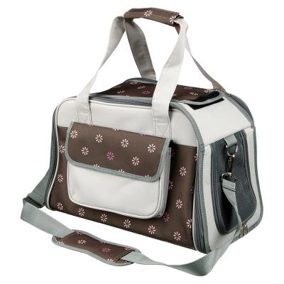 Libby Transporttaske, 25 × 27 × 42 cm, grey/brown