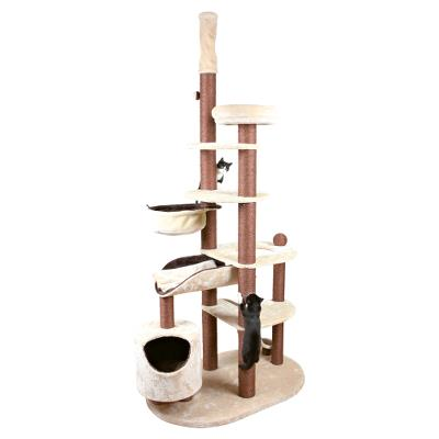 *Nataniel Scratching post, with ceiling attachment, 228–268